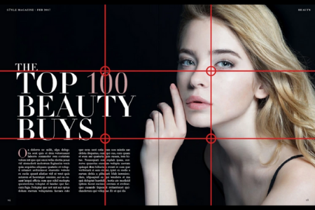 Rule Of Thirds Example 1 Magazine spread