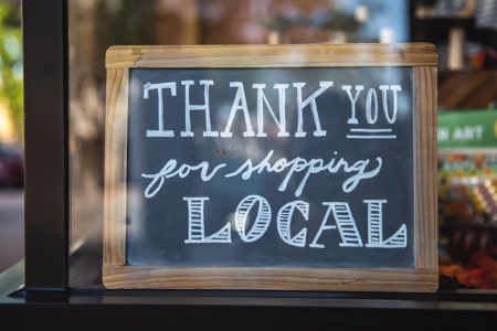 Thank you for shopping local